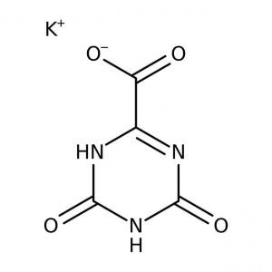 Oxonic acid, potassium salt, 97.5%, ACROS Organics™